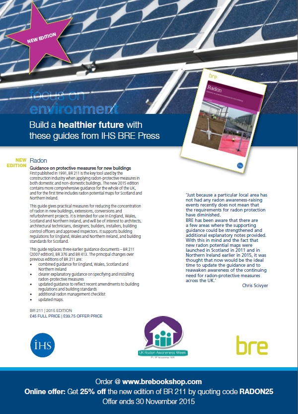 Updated Guidance for Radon Protection In Newbuilds to Launch Next ...