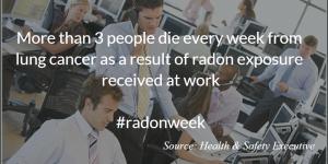 Workplace Radon Deaths