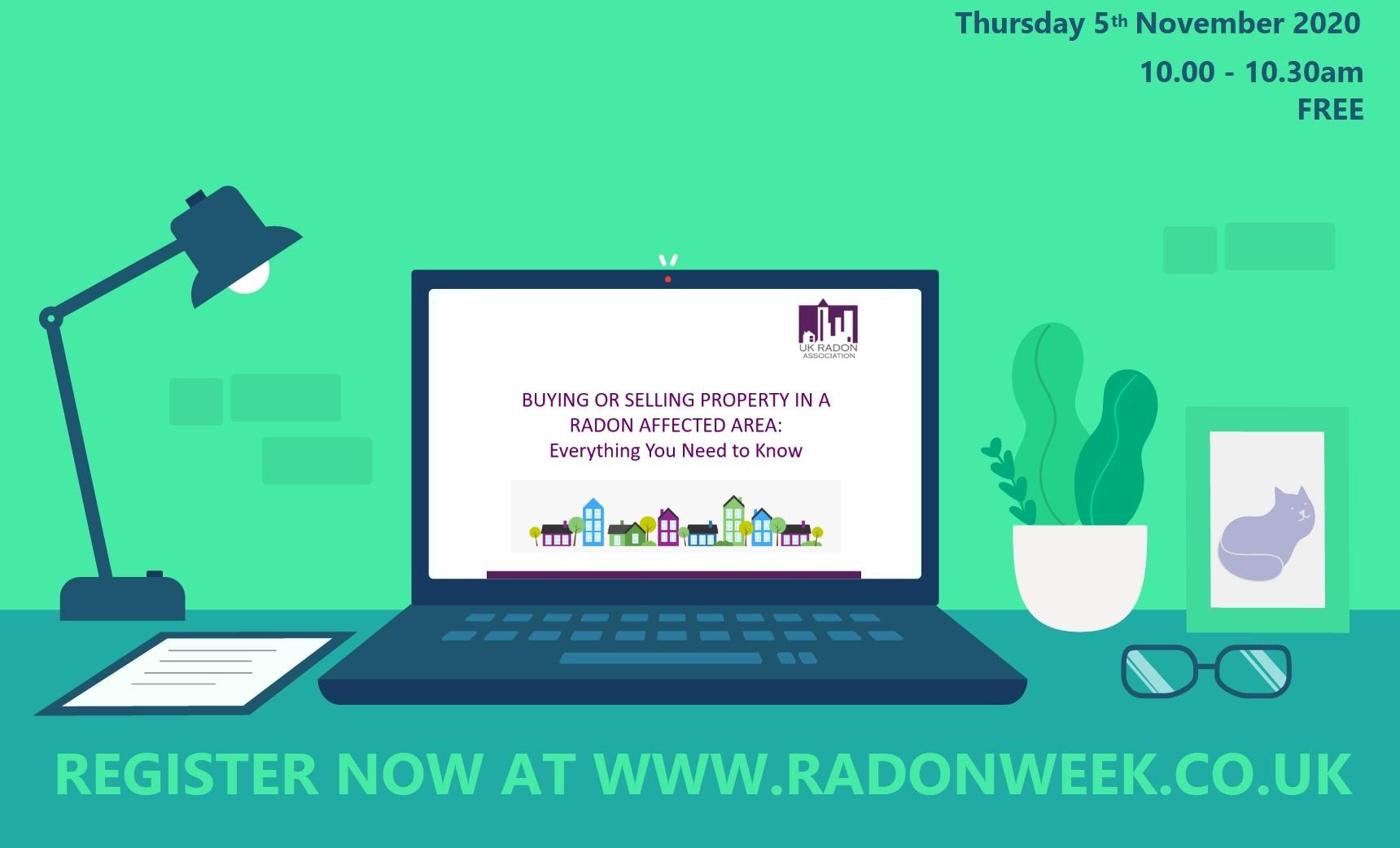 Radon Awareness Week 4 10 November